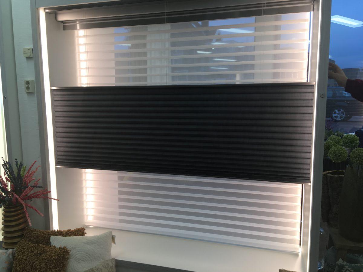 automatische raamdecoratie met powerview 174 motorisation